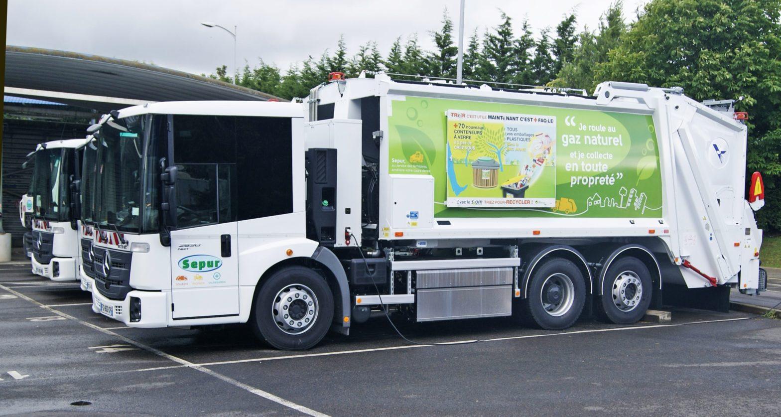 Une collecte innovante, de nouveaux camions poubelle