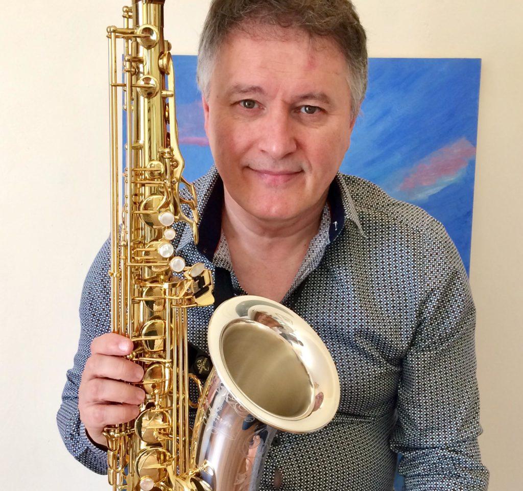 Sylvain Beuf, jazzman réputé, rejoint l'équipe des professeurs du Conservatoire de Longjumeau