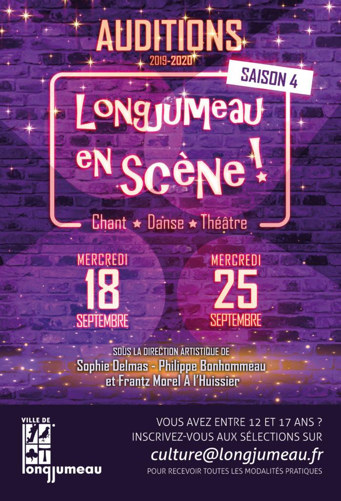 Affiche Longjumeau en scène le 18 et 25 septembre