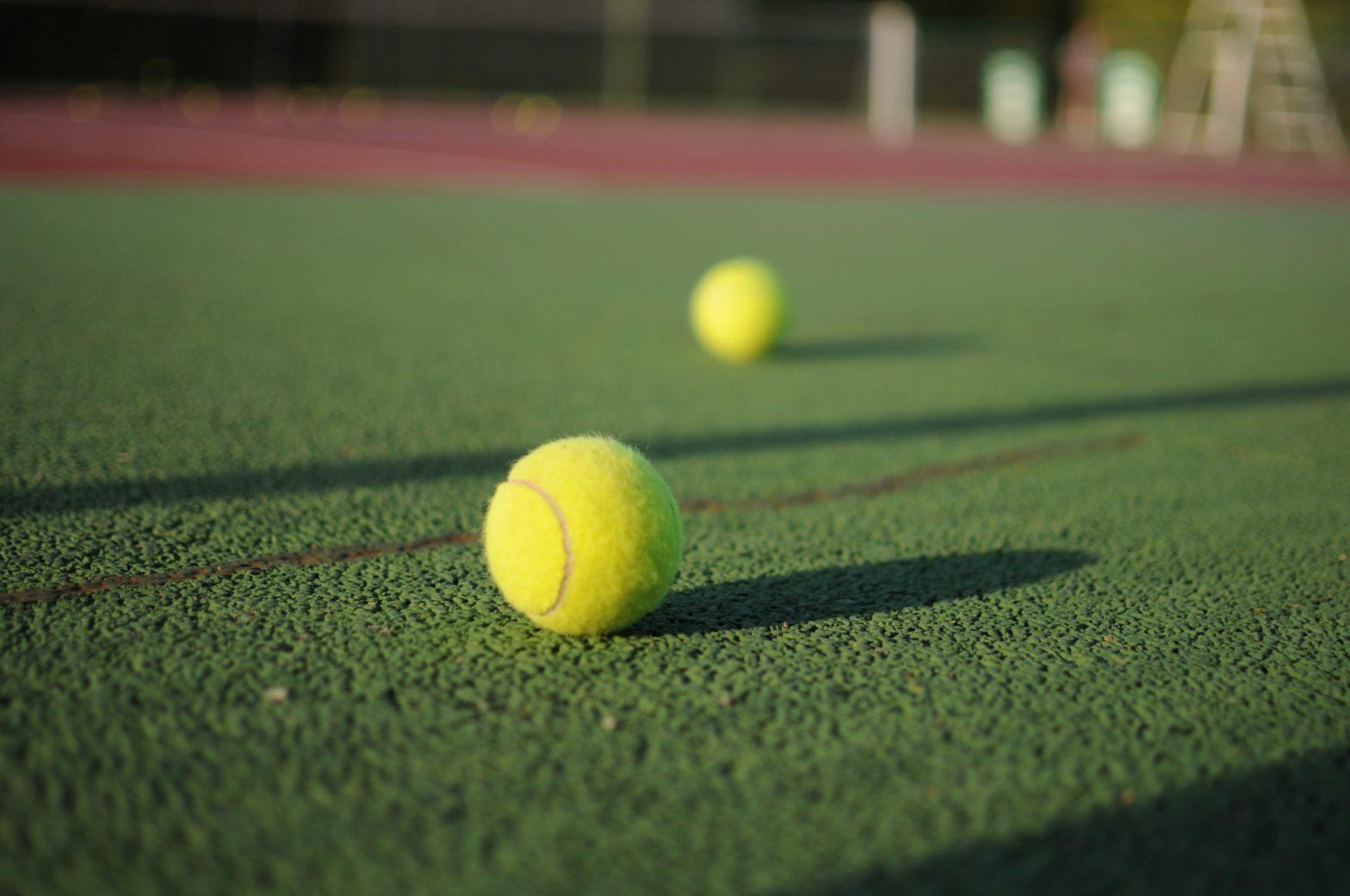 Sport, terrain de tennis