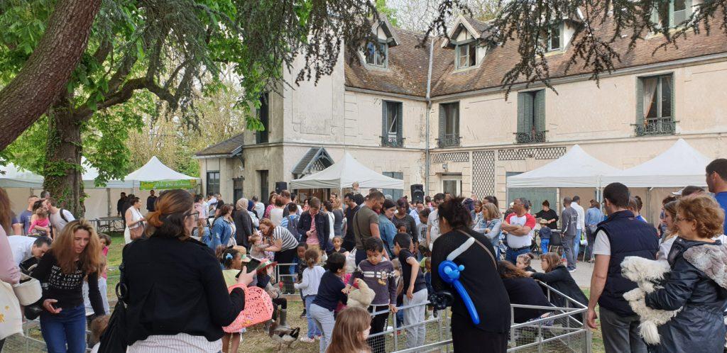Chasse aux œufs, au Moulin de Gravigny