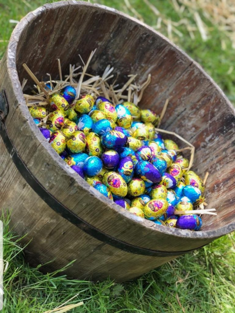 Chasse aux œufs