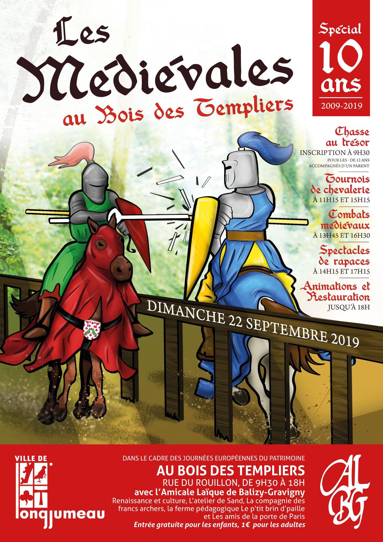 10e édition des Médiévales, affiche