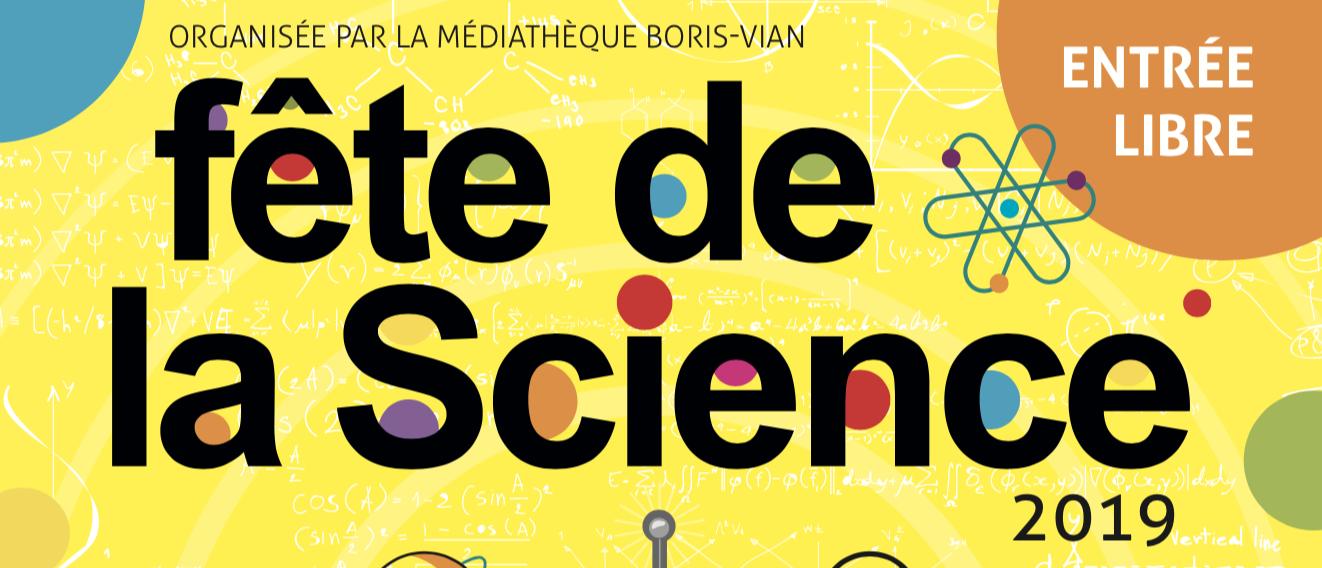 Bandeau affiche de la Fête de la Science