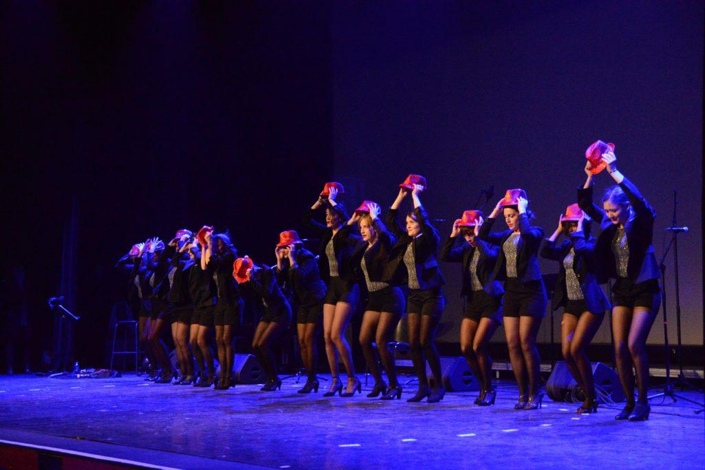 Danseuses lors de la cérémonie des voeux du maire 2019