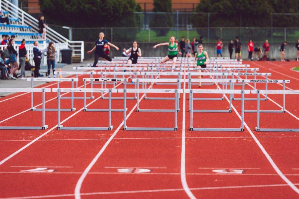 Athlétisme et saut d'obstacles