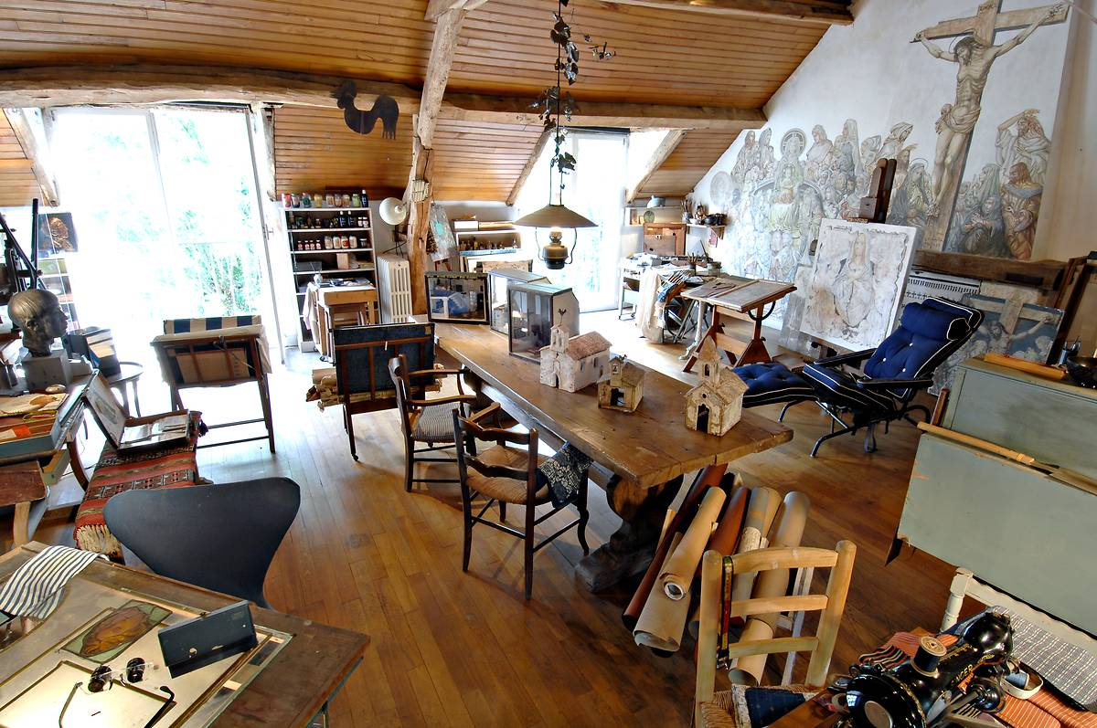 Maison-Atelier foujita, visite guidée pour les seniors
