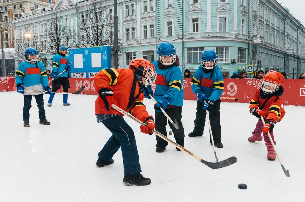 hockey stage