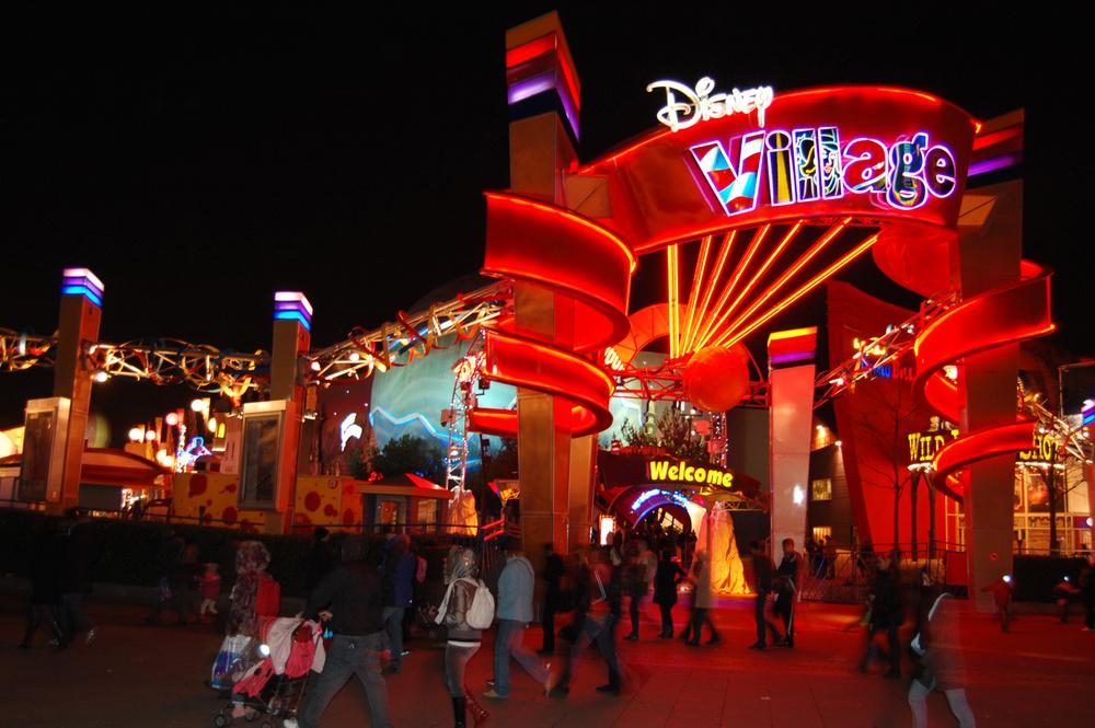 Sortie à Disney Village avec la Maison colucci