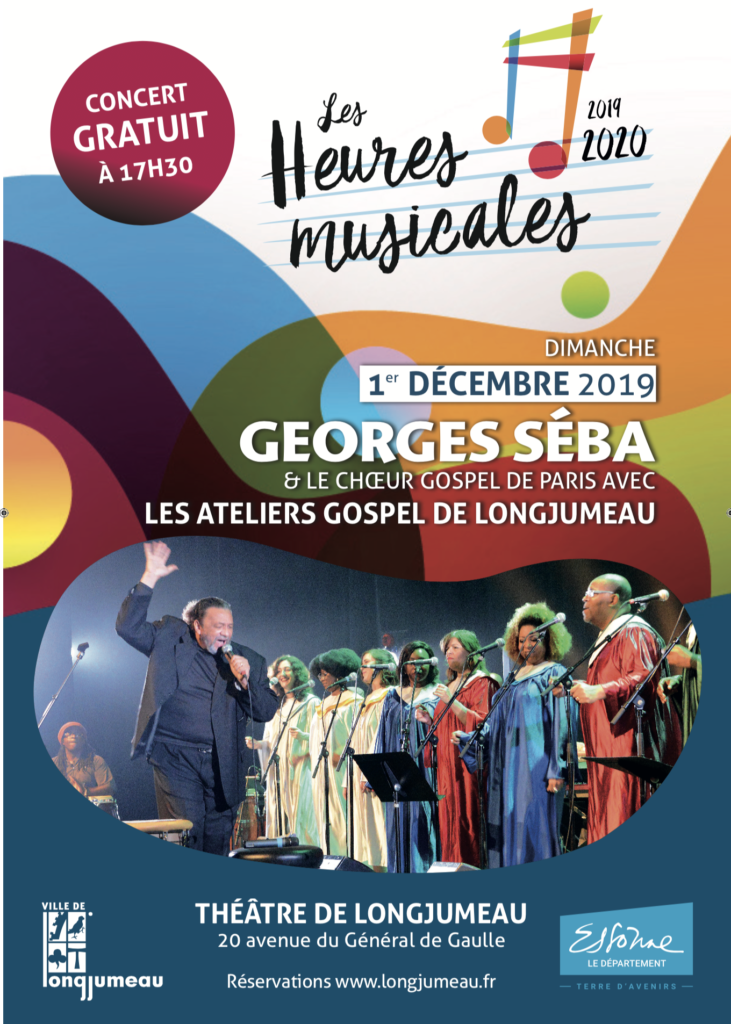 Georges Sera affiche concert Heures musicales