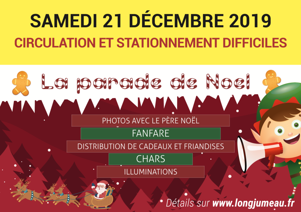 Parade de Noël - circulation/Stat