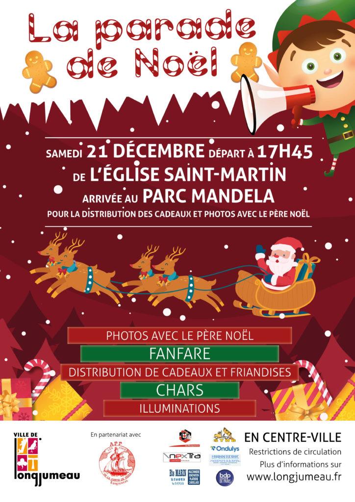 Parade de Noël - affiche