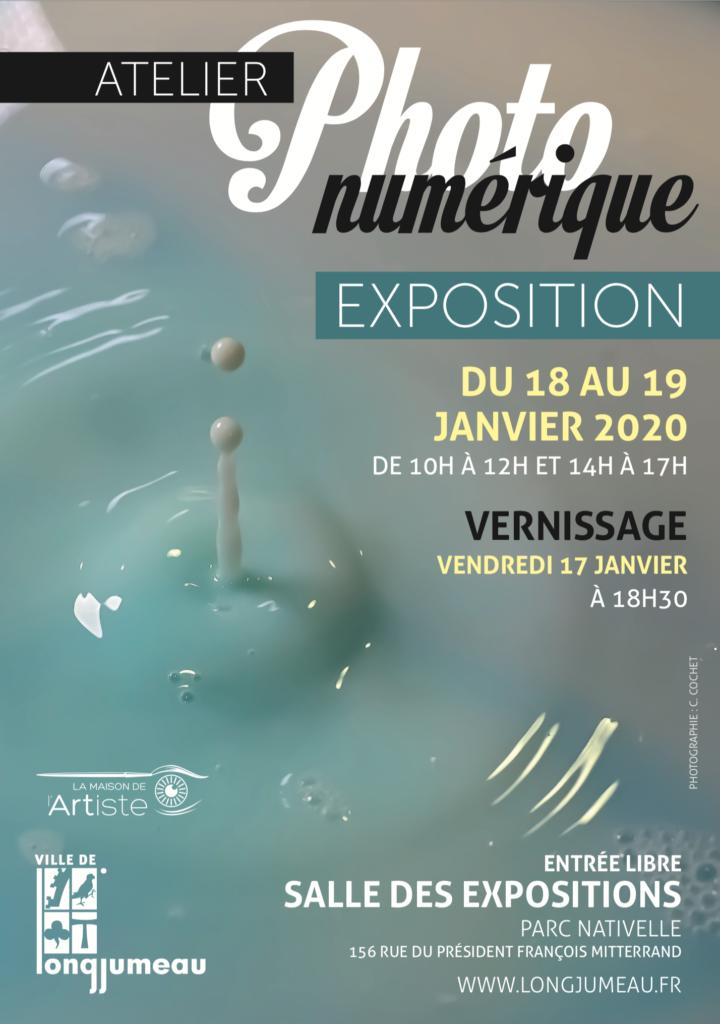 Exposition : Photo numérique affiche