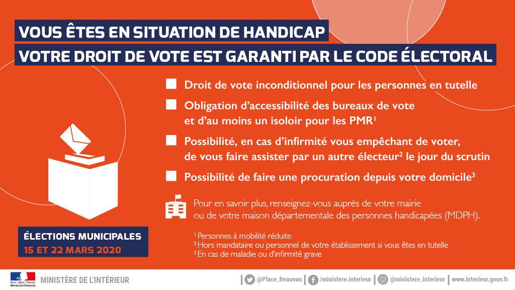 Élections municipales 2020 : inscriptions 6