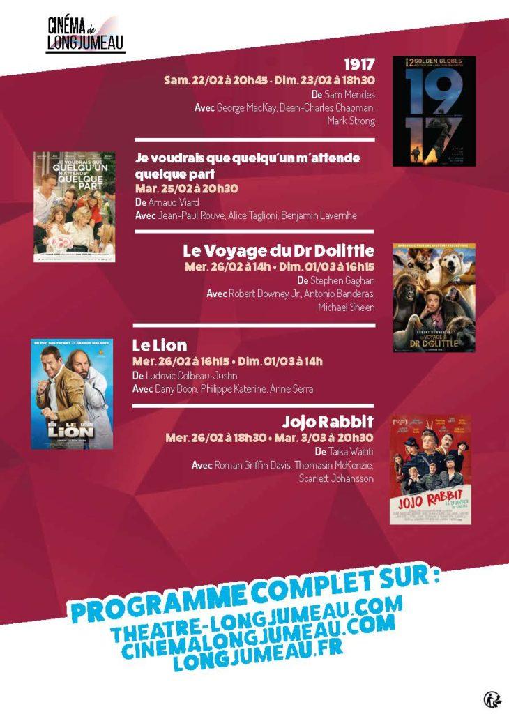 Programme cinéma Février 2