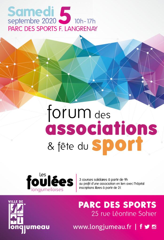 Affiche Forum des associations et fête du sport 2020